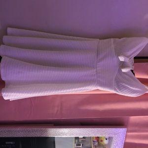 Trixxi Mini Dress - White